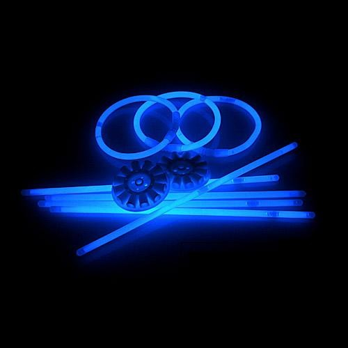 Glowsticks Blauw 50 stuks