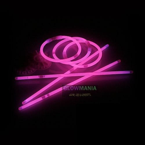 Glowsticks Roze 50 stuks