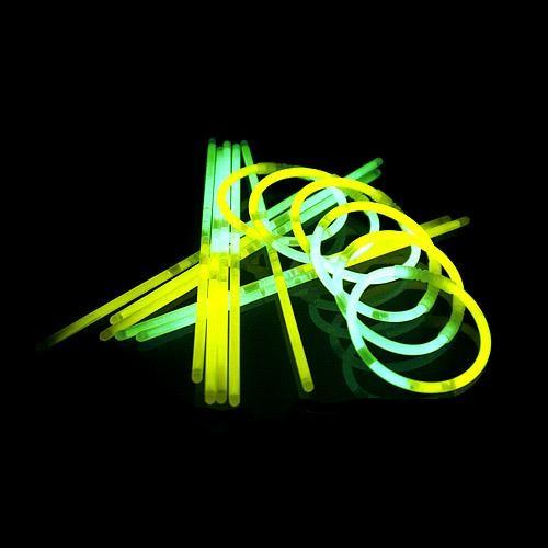 Glowsticks Geel-Groen 50 stuks
