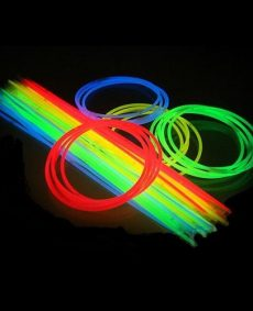 Hals Glowsticks 4-kleuren MIX