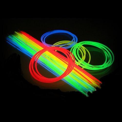 Hals Glowsticks 4-kleuren MIX