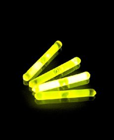 Mini Glowsticks Geel 2st