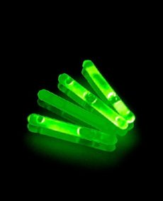 Mini Glowsticks Groen 2st
