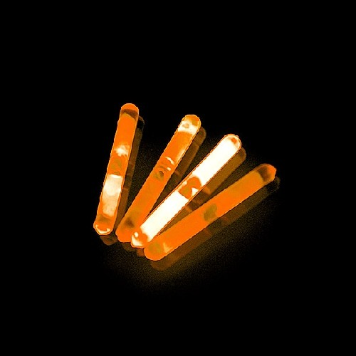 Mini Glowsticks Oranje 2st