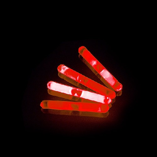 Mini Glowsticks Rood 2st