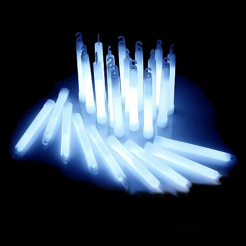 Power Glowsticks Gletsjerwit 25st