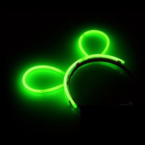 Glow Haarband Groen