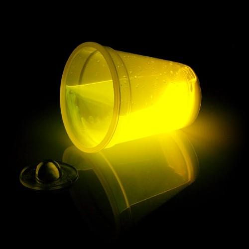 Glow Beker 300ml Geel