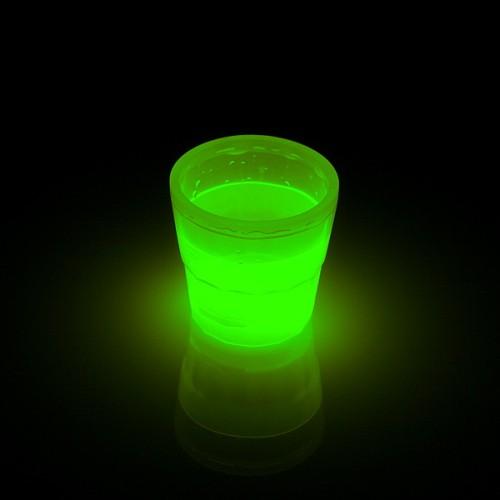 Glow beker 50ml Groen
