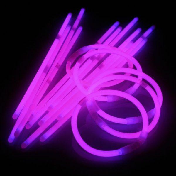 Glowsticks Paars 100st