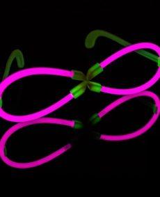 X-glowbril roze