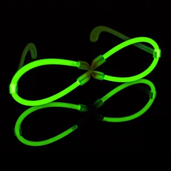 X-glowbril groen