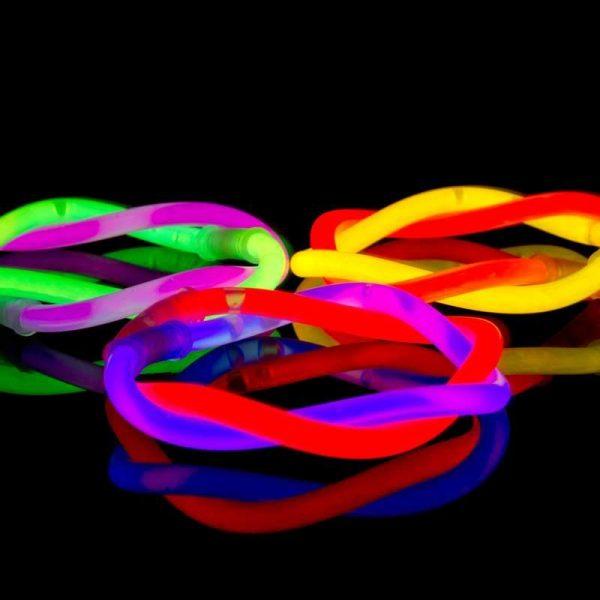 Glowsticks MIX 100 stuks