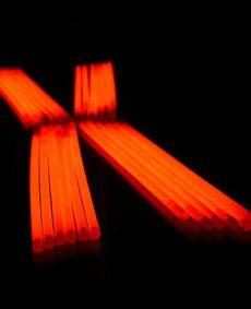Glowsticks oranje 100 stuks