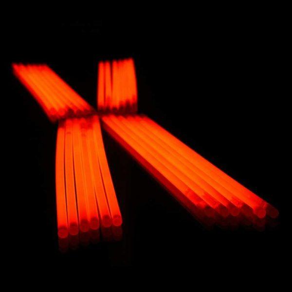 Glowsticks Oranje 50 stuks