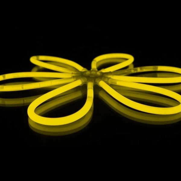 Outlet Glowsticks Geel 100st