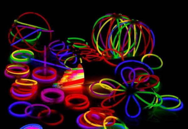 Glow feestpakket 221 delig. Breeklichten, Glowbrillen, 1 Compleet pakket