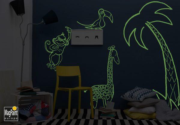 Glow in the dark verf 10 GlowPaint Dieren 1 logo scaled