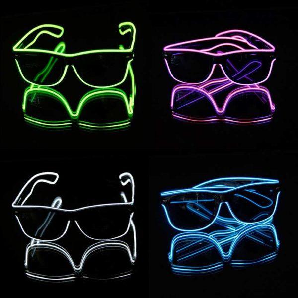 EL wire neon bril 5 neon bril